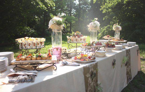 Кейтеринг на свадьбу